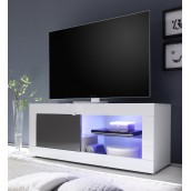 Meuble TV hi-Fi 1 porte/2 niches BERGAME 2