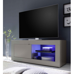 Meuble TV hi-Fi 1 porte/2 niches BERGAME 4