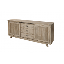 Bahut-buffet contemporain 220 cm BORIS