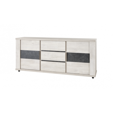 Bahut-buffet contemporain 235 cm CITY