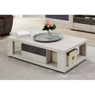Table basse contemporaine 130 cm CITY