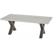 Table basse contemporaine 130 cm CORALIE