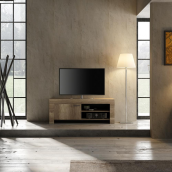 Meuble TV 140 cm contemporain TIMBA