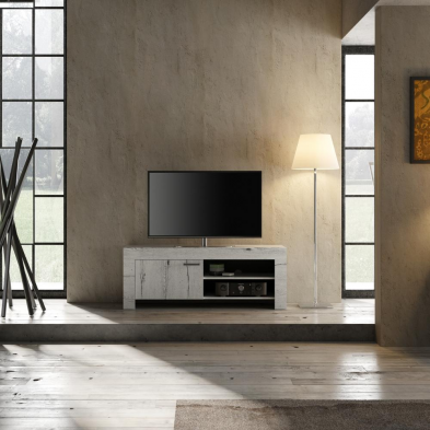 Meuble TV 140 cm contemporain TIMBA2