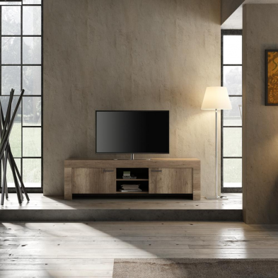 Meuble TV 180 cm contemporain TIMBA