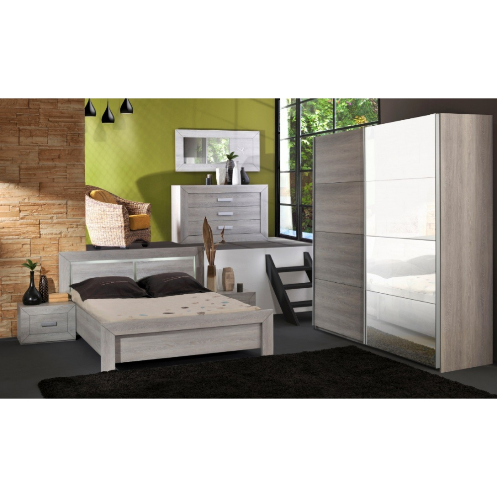 Chambre adulte complete virginia ii chambre adulte for Chambre adult complet