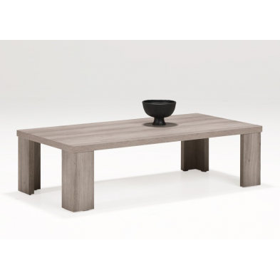 Table basse coloris mara 130 x 65 cm NORA