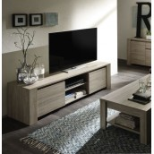 Meuble TV-HIFI-VIDEO 180 cm contemporain ELSA