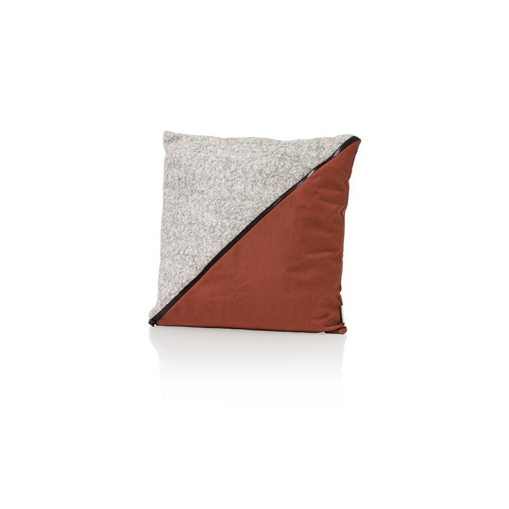 Coussin The Zipper 45 x 45 cm - laine YOUNIQ