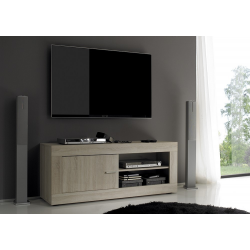 Meuble TV-HIFI-VIDEO 140 cm contemporain ROME
