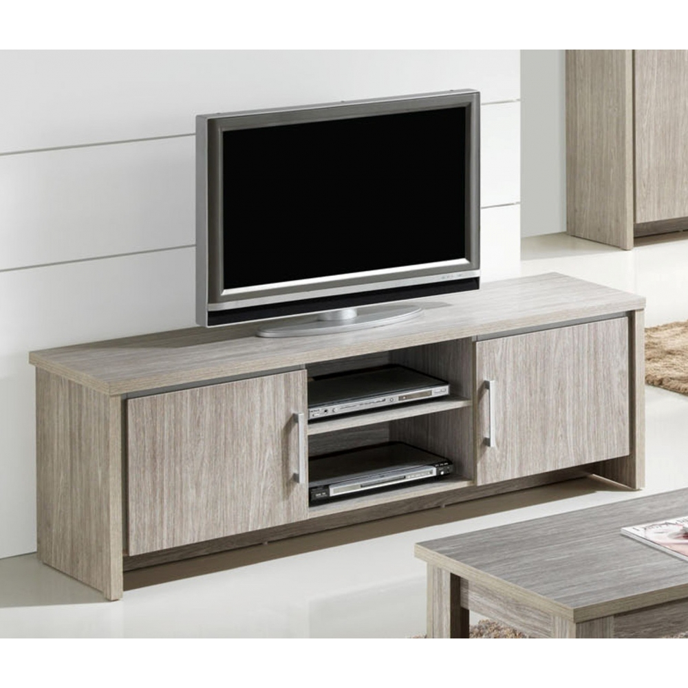 meuble tv contemporain 160 cm capri. Black Bedroom Furniture Sets. Home Design Ideas