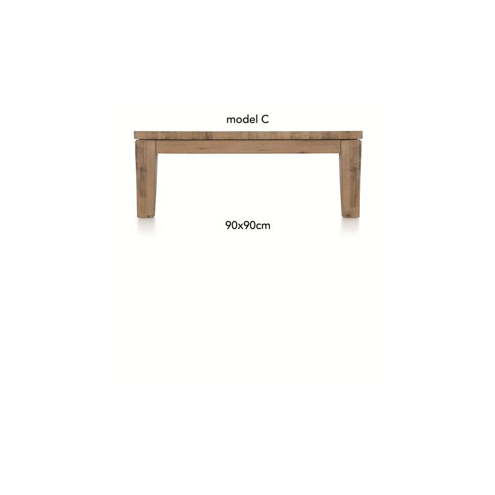 A La Carte, table basse 90 x 90 cm - COR - H&H