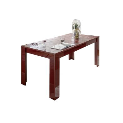 Table VENEZIA ROUGE 180/90 cm