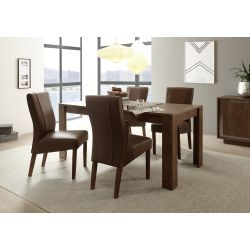 Table extensible ANABELLA CHENE 137(+48) x 90 cm