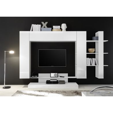 Ensemble meuble TV design MARSEILLE 258 x 165 cm