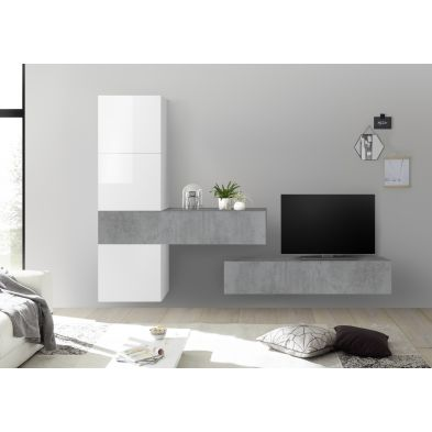 Ensemble meuble TV FOREVER 8 250 x 200 cm