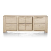 Buffet BUCKLEY 220 cm acacia massif H&H