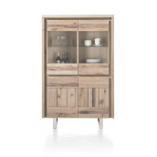 Highboard MORE III 100 cm chêne massif H&H