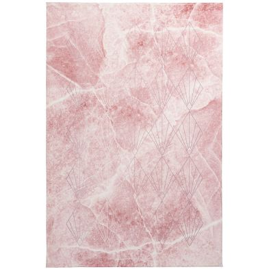 Tapis moderne My Palazzo 271 Rose poudré - effet marbre