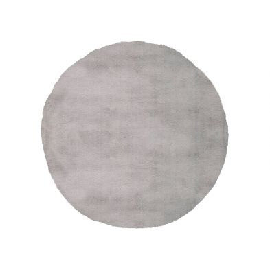 Tapis rond 80 cm My Cha Cha 535 Silver - super doux